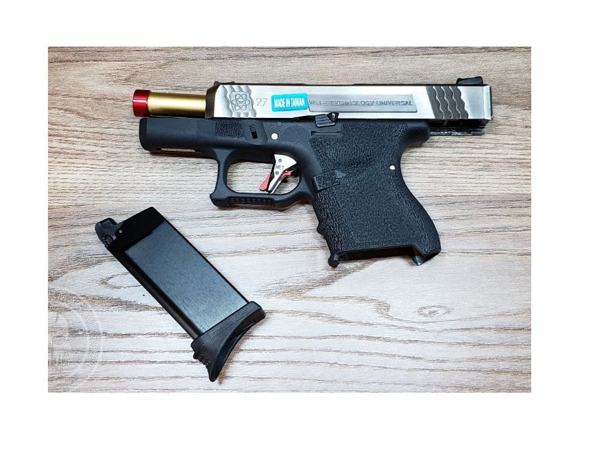 Pistola Airsoft WE Glock G27 T3