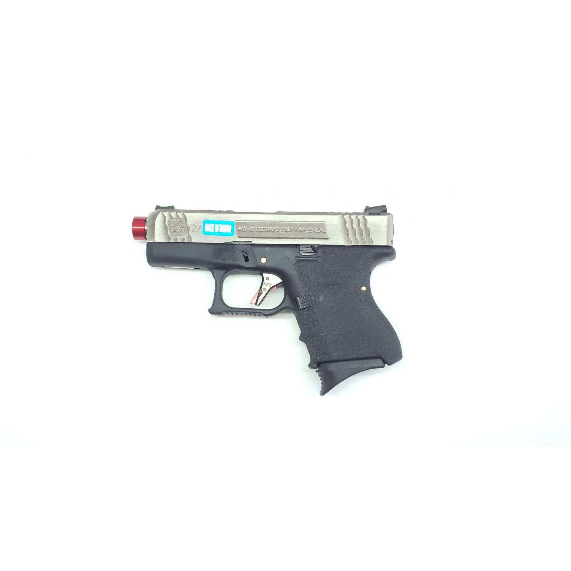 Pistola Airsoft WE Glock G27 T7