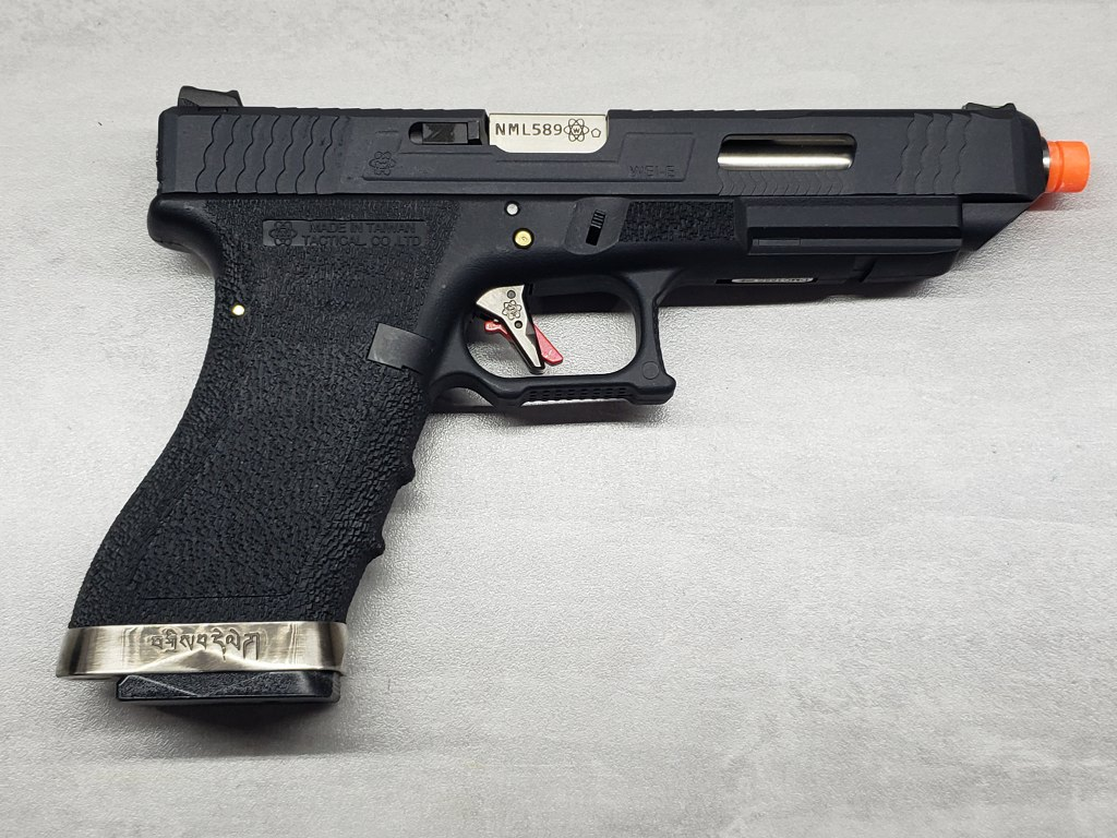 Pistola Airsoft WE Glock G35 T05