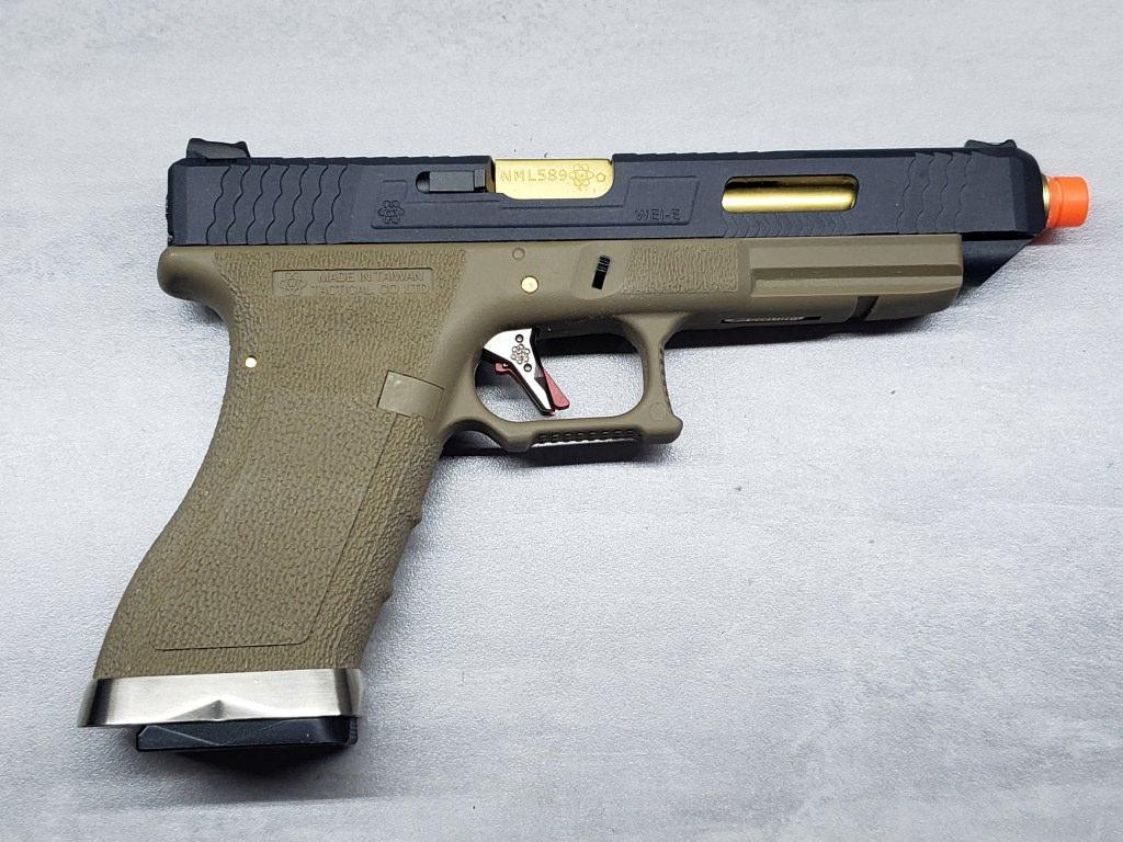 Pistola Airsoft WE Glock G35 T06