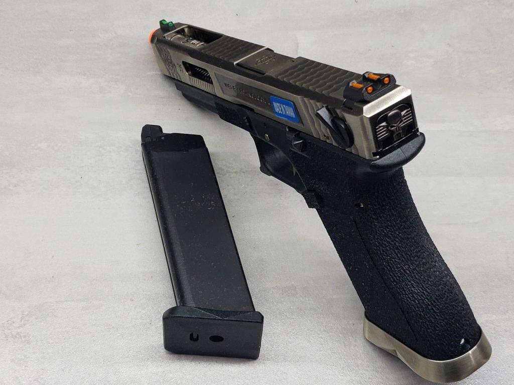 Pistola Airsoft WE Glock G35 T07
