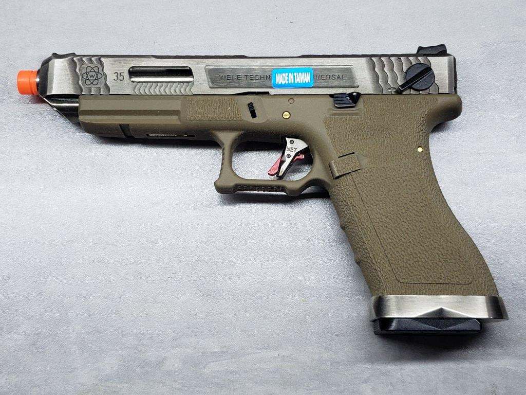 Pistola Airsoft WE Glock G35 T08