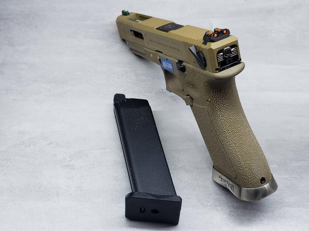 Pistola Airsoft WE Glock G35 T10