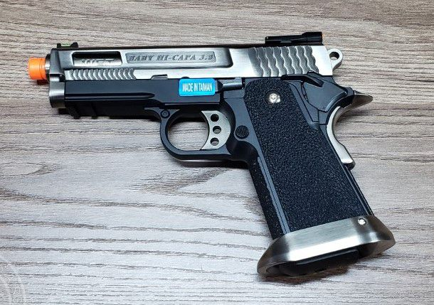 Pistola Airsoft WE Hicapa 3.8 Brontosaurus Full Metal