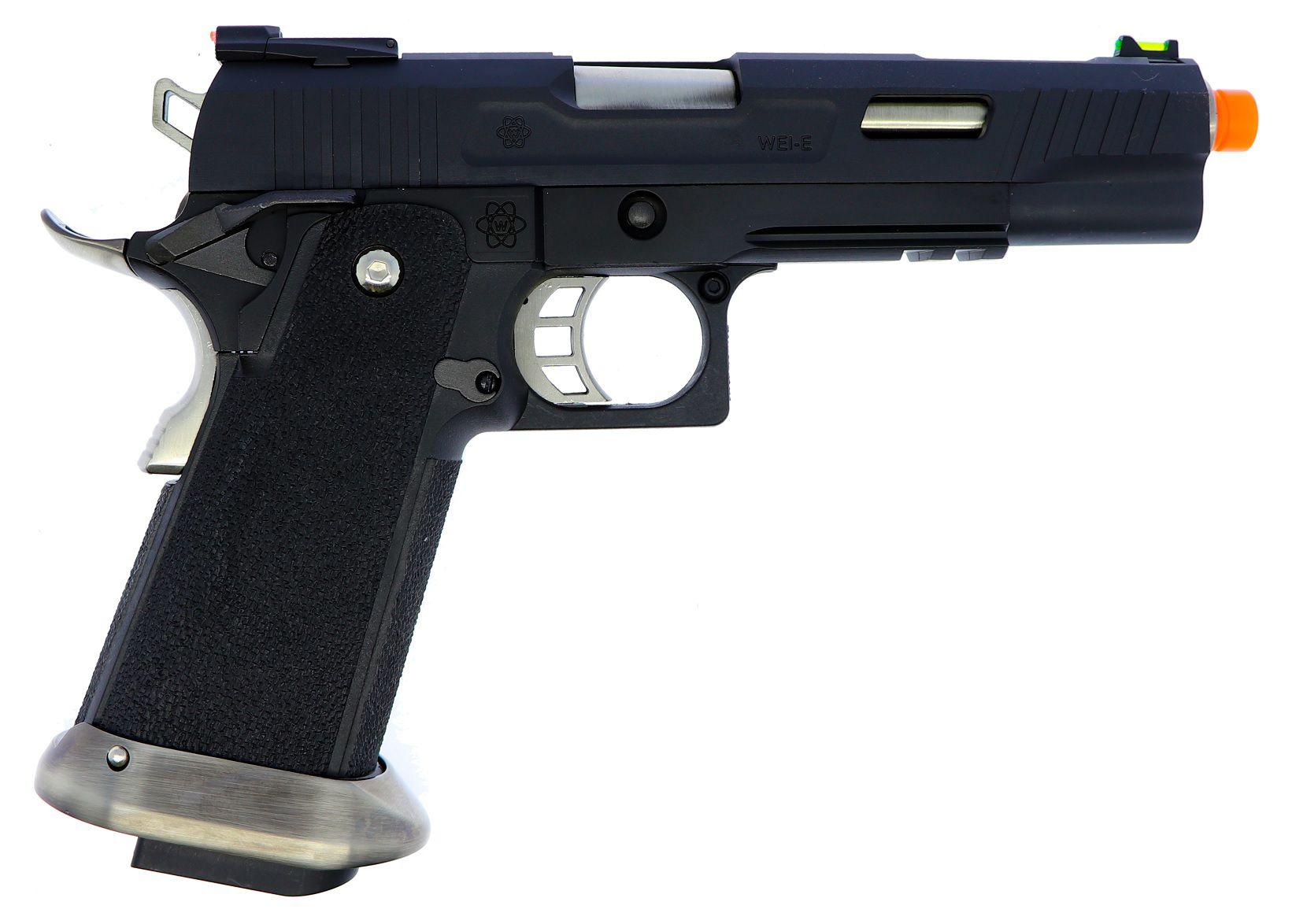 Pistola Airsoft WE Hicapa 5.1 Black (T-Rex)