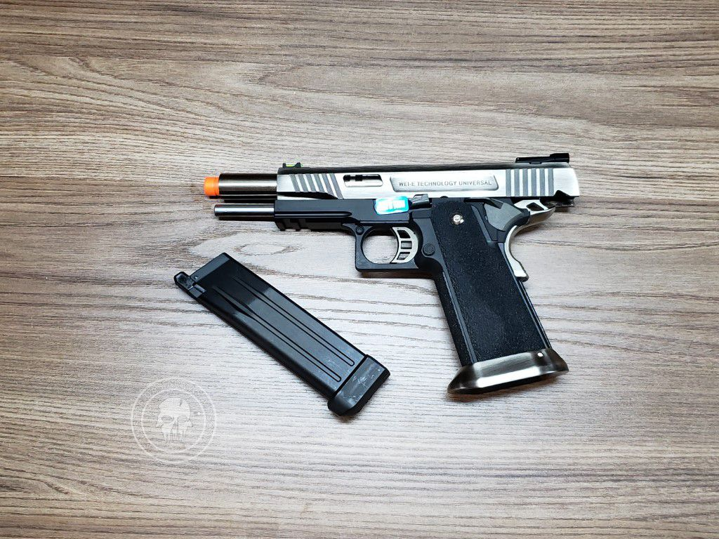 Pistola Airsoft WE Hicapa 5.1 Silver (T-Rex)