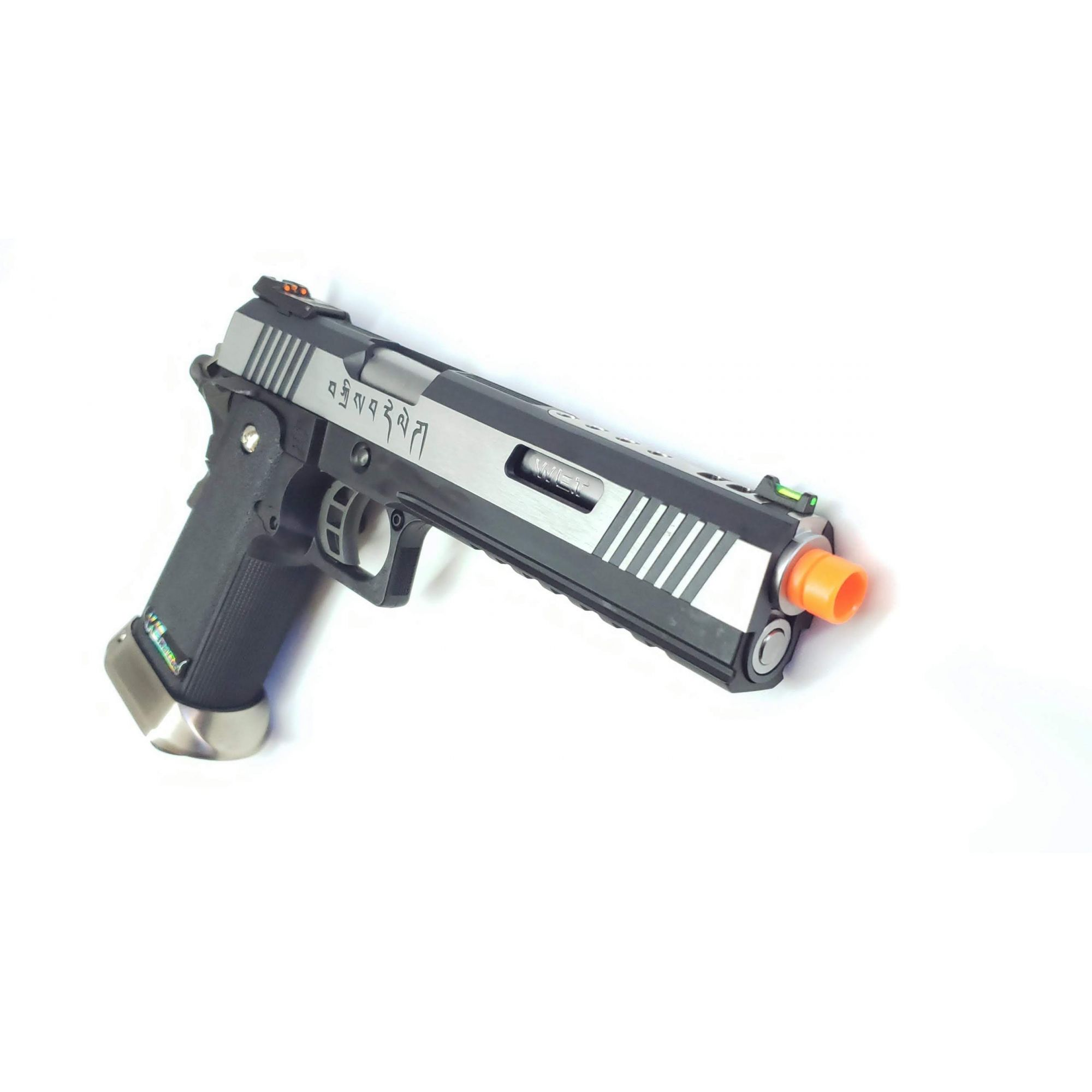 Pistola Airsoft WE Hicapa 6 2tons Silver