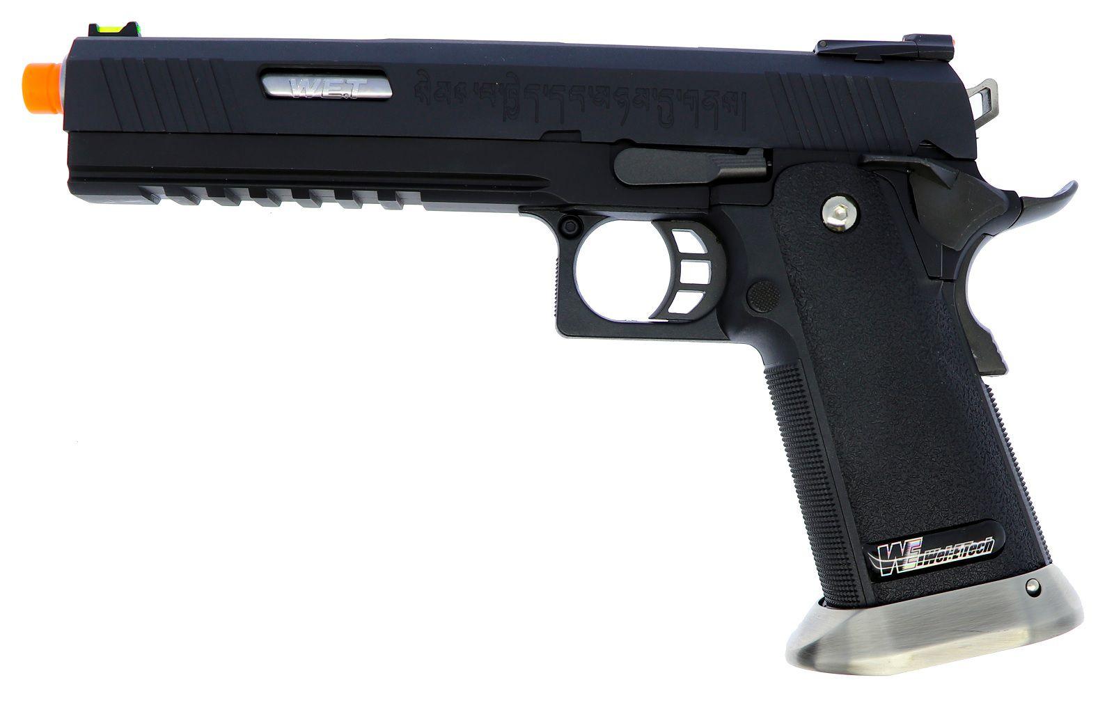 Pistola Airsoft WE Hicapa 6 Bk
