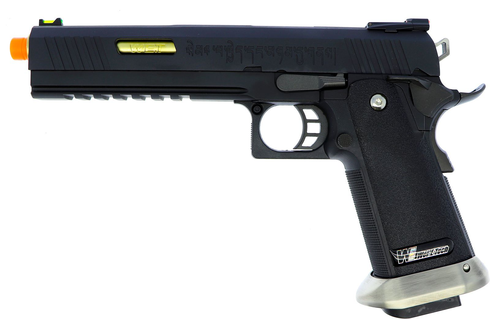 Pistola Airsoft WE Hicapa 6 Black Gold