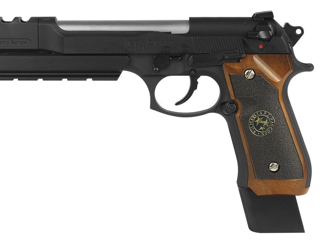 Pistola Airsoft WE M92 Bio Hazard Barry Burton Bw V1