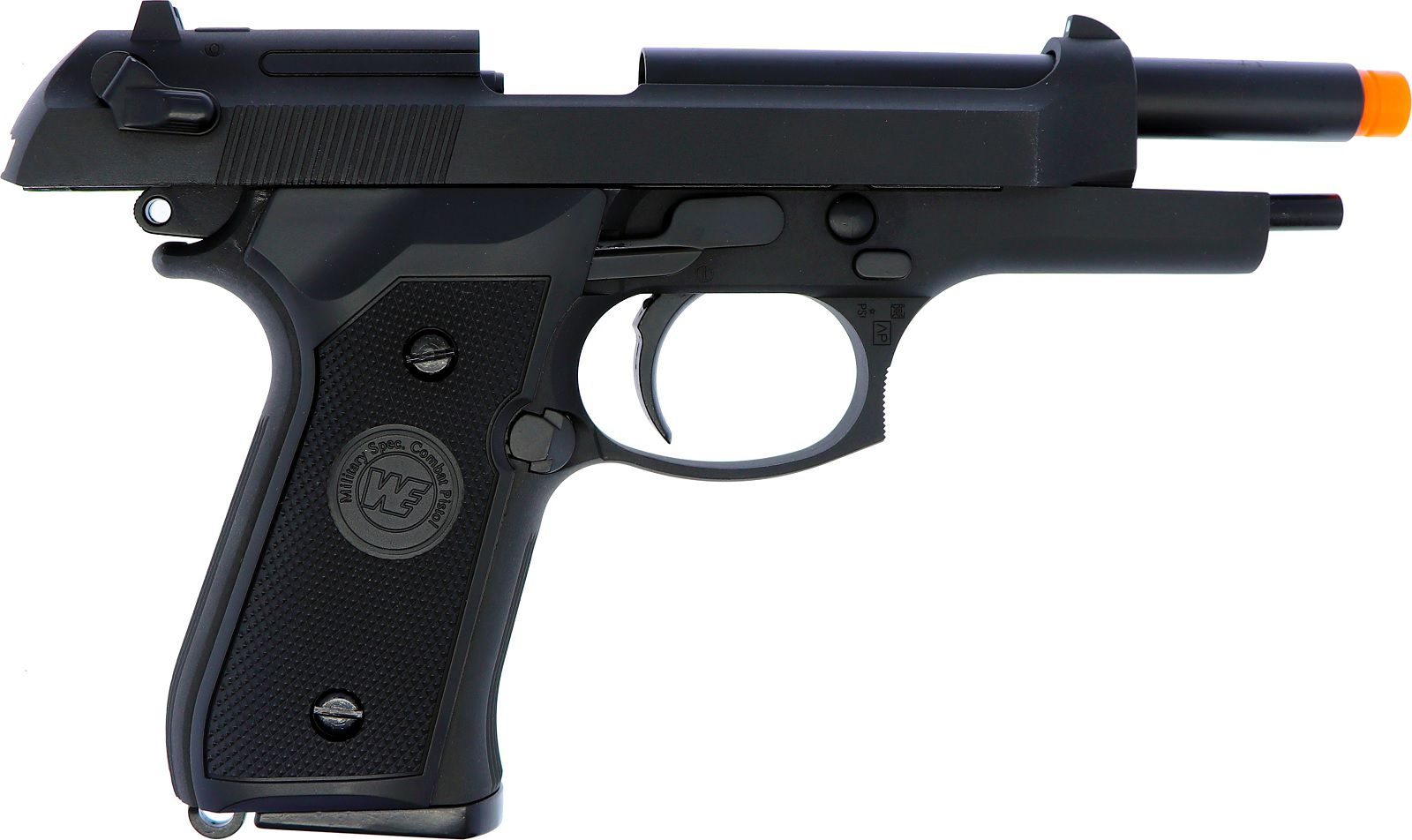 Pistola Airsoft WE M92 Preta V1