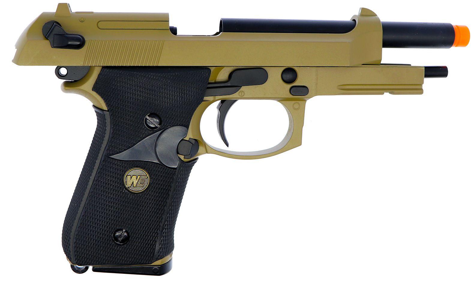 Pistola Airsoft WE M9A1 NAVY TAN