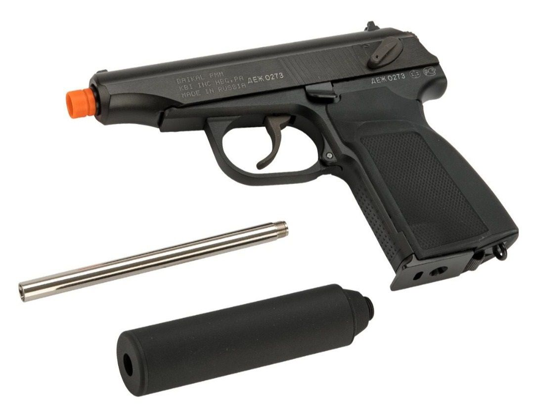 Pistola Airsoft WE MAKAROV MAKA-BK-SP