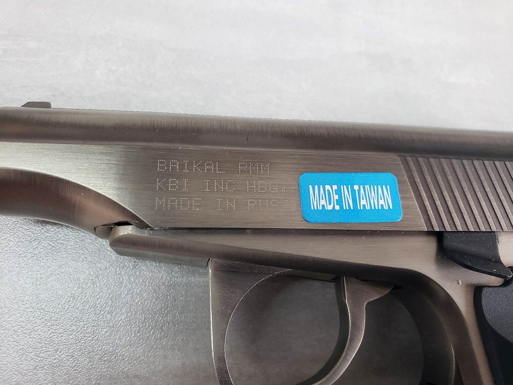 Pistola Airsoft WE MAKAROV MAKA-SV-SP