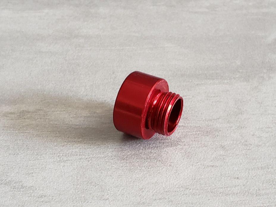 Ponteira Aluminio Vermelha para pistolas WE e Armorer works