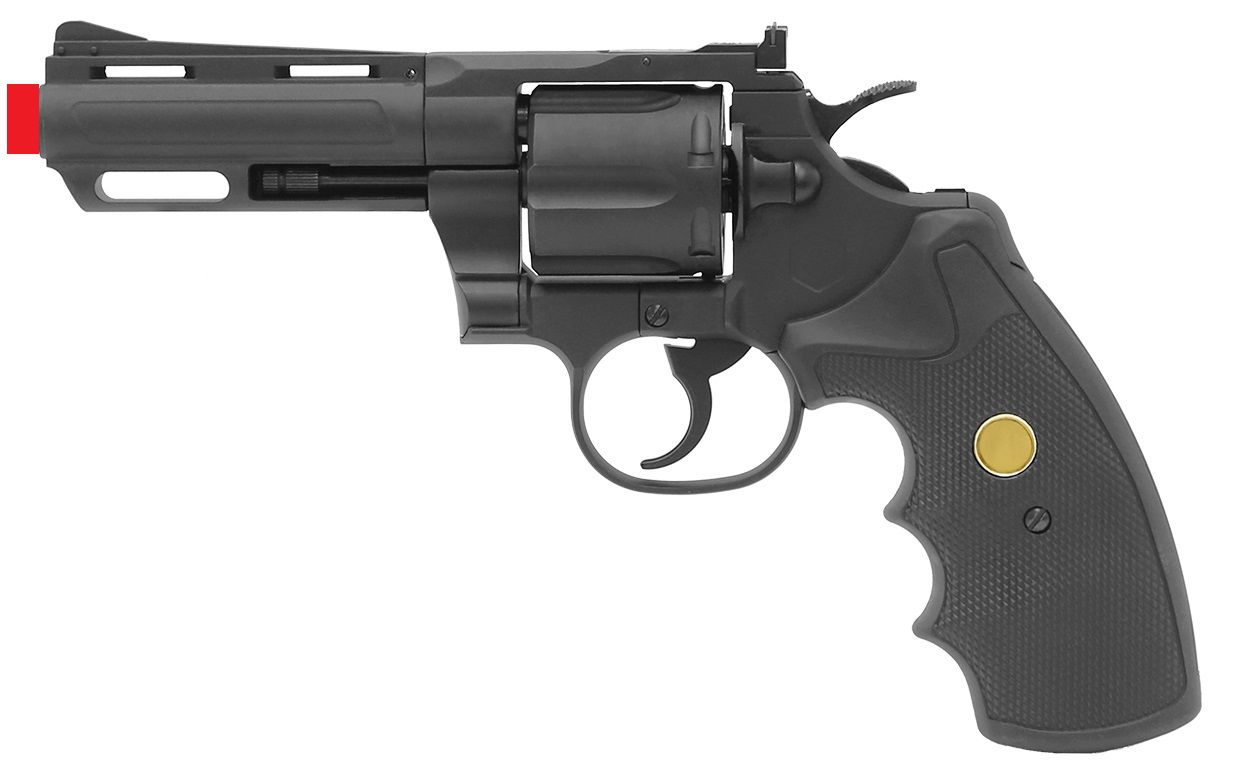 Revolver Airsoft KINGARMS GBB 357 4 PG-01-CI-M