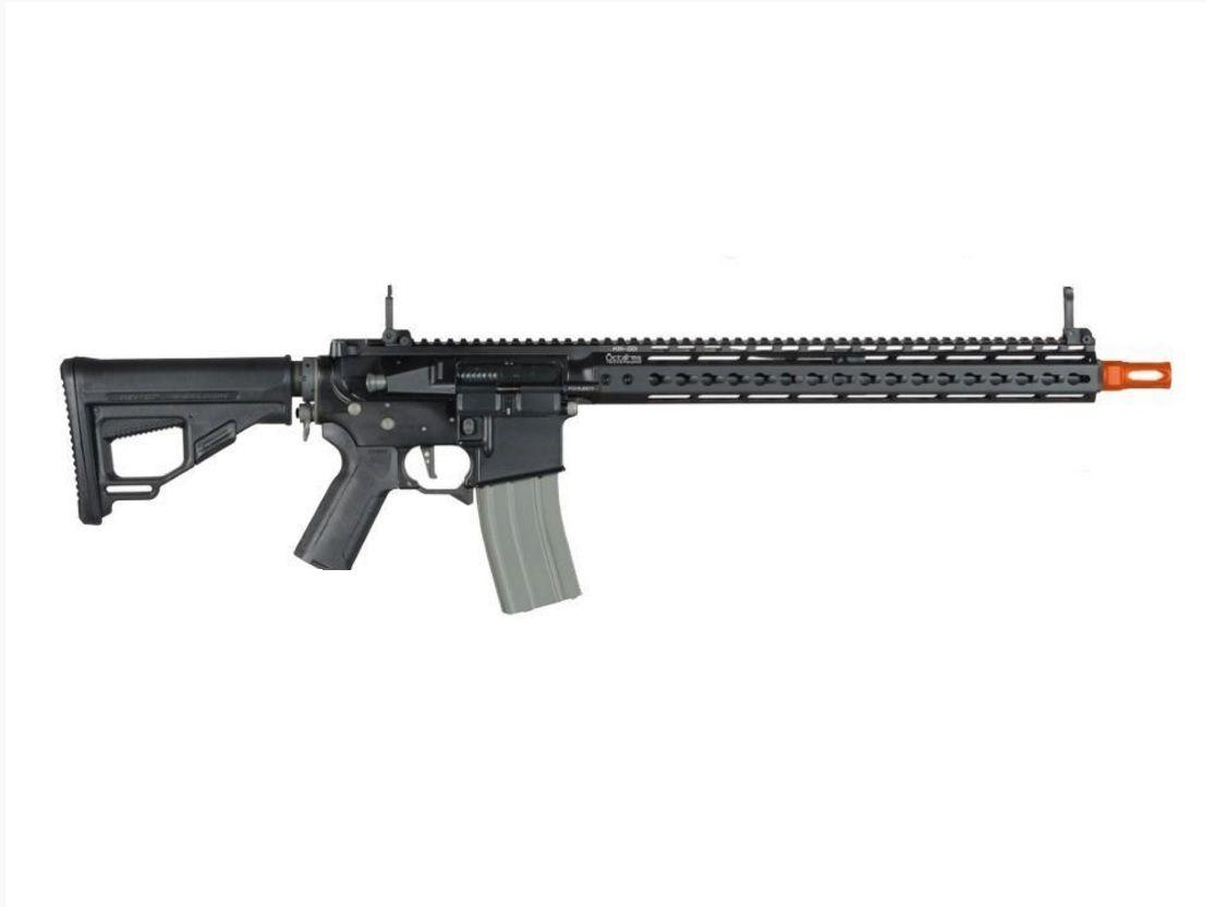 Rifle Airsoft Ares Octarms Km15 preta Full Metal