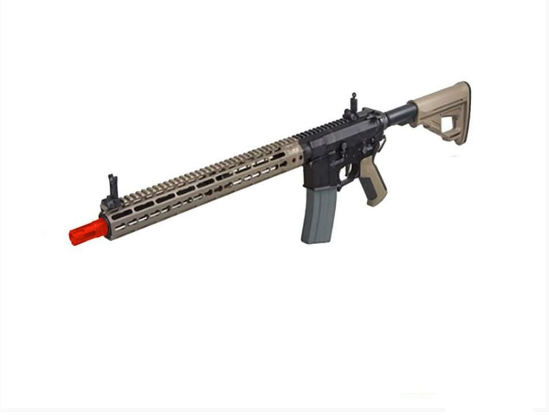 Rifle Airsoft Ares Octarms Km15 Tan Full Metal