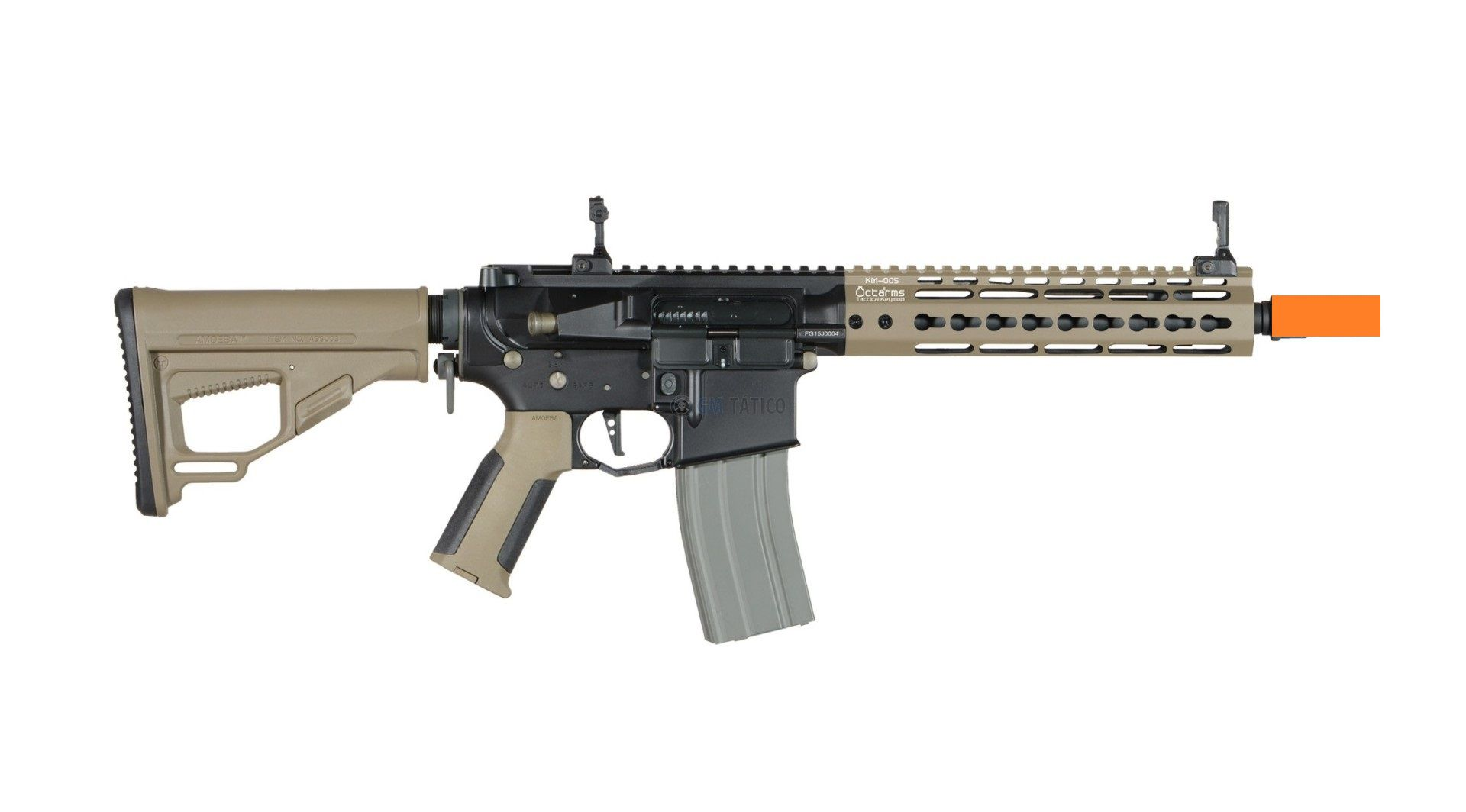 Rifle Airsoft Ares Octarms Km9 Tan Full Metal