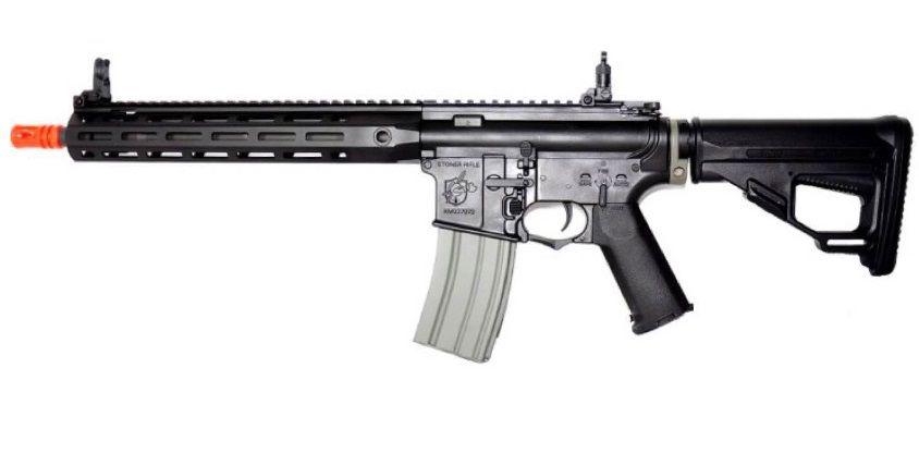 Rifle Airsoft Ares Sr16 Long Preta