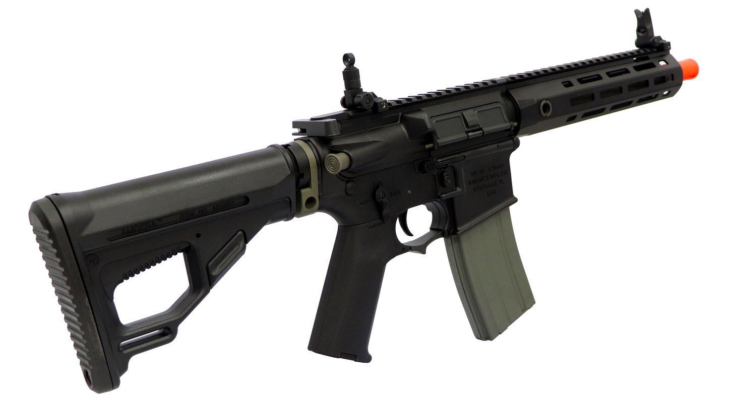 Rifle Airsoft Ares Sr16 Short Curta Preta