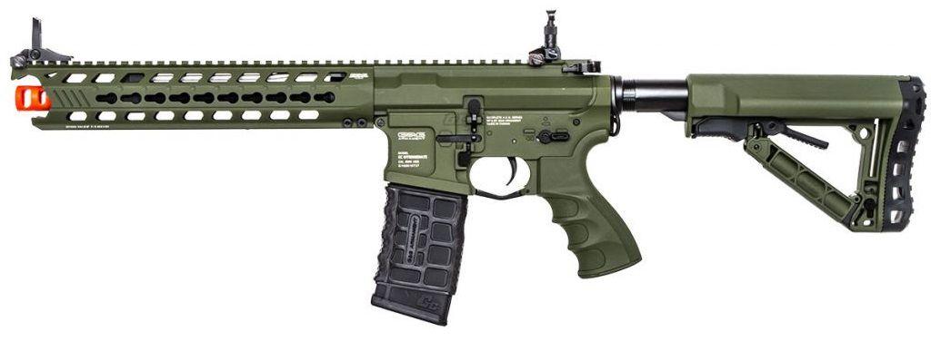 Rifle Airsoft G&g Gc16 Predator Full Metal Verde