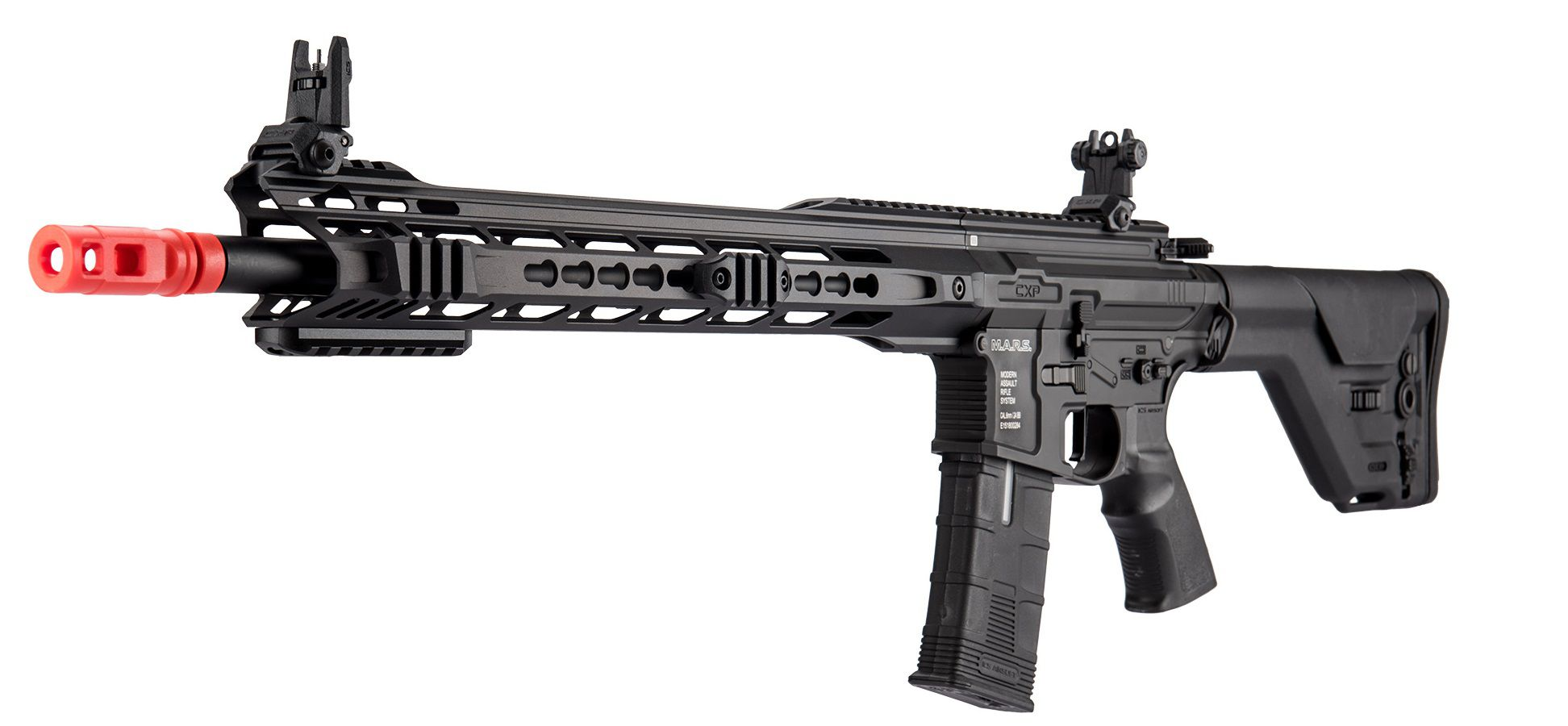 Rifle Airsoft ICS CXP MARS DMR Black