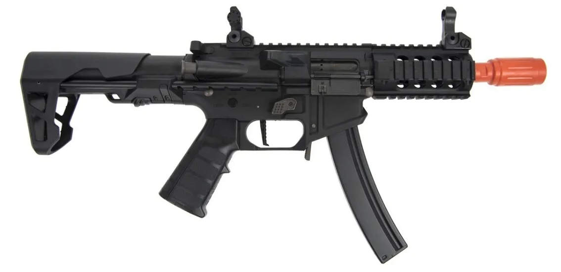 Rifle Airsoft KingArms PDW 9mm Bk
