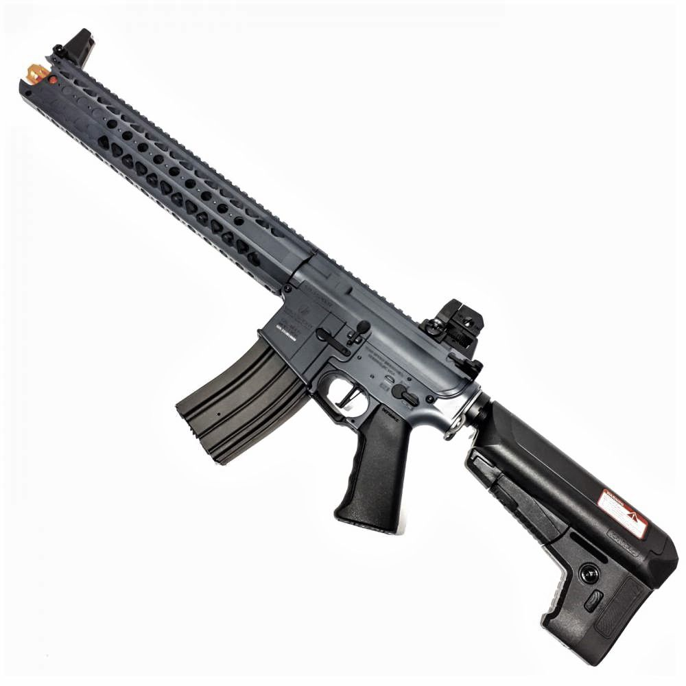 Rifle Airsoft Krytac Lvoa C Preto Full Metal