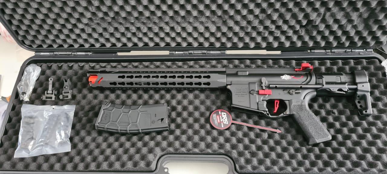 Rifle Airsoft VFC Avalon Carbine com case - USADA