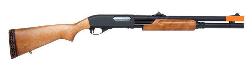 Shotgun Airsoft APS WOOD CO2 MKII-M