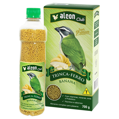 Alcon Club Trinca Ferro Banana 310g
