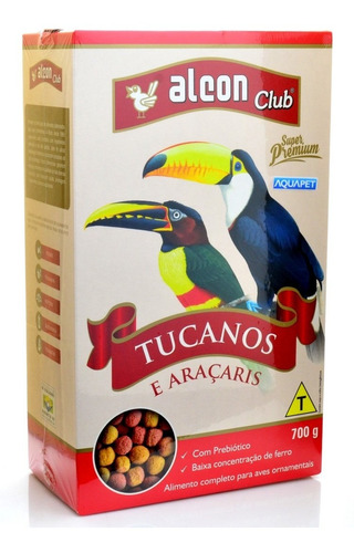 Alcon Club Tucanos E Araçaris 700g