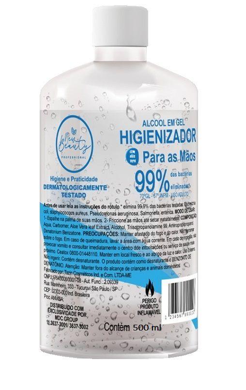 Álcool Gel Higienizador 70% 500ml