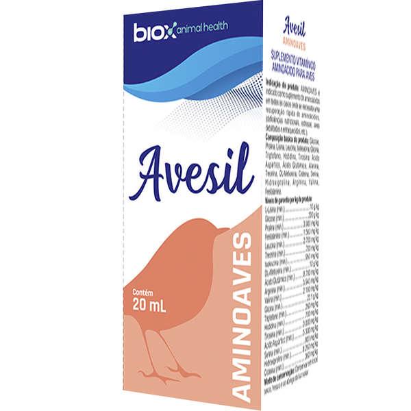 Aminoaves 20ml Suplemento Vitamínico Aminoácidos para Aves