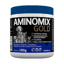 Aminomix Gold Suplemento Vitamínico Vetnil 100g