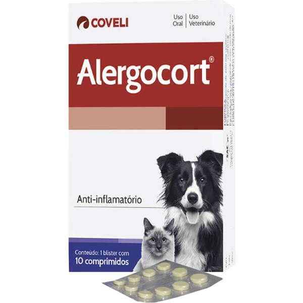 Anti-inflamatório Coveli Alergocort 10 Comprimidos