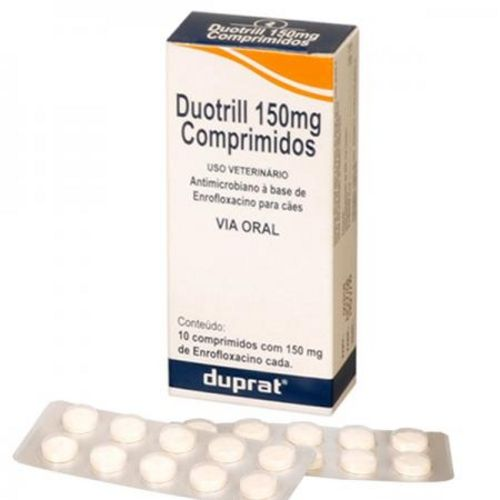Antimicrobiano Duprat Duotrill 150mg - 10 Comprimidos