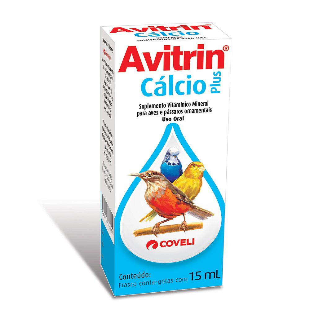 Avitrin Cálcio Plus Coveli 15mL