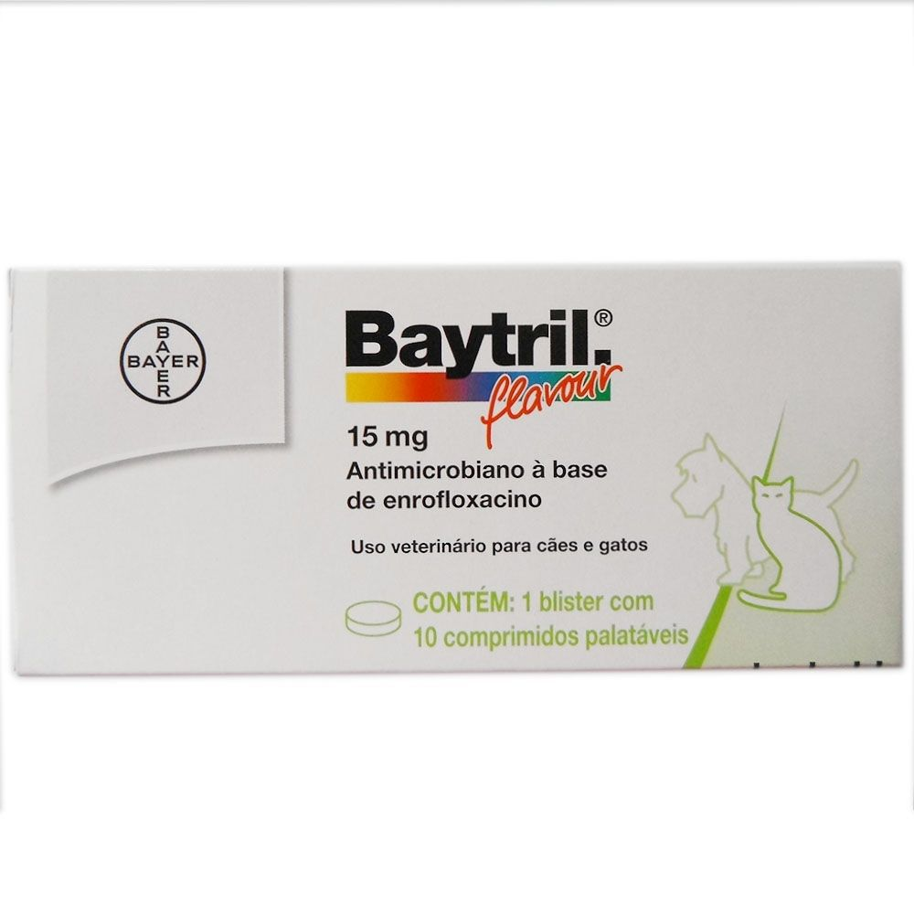 Baytril Comprimido 15mg
