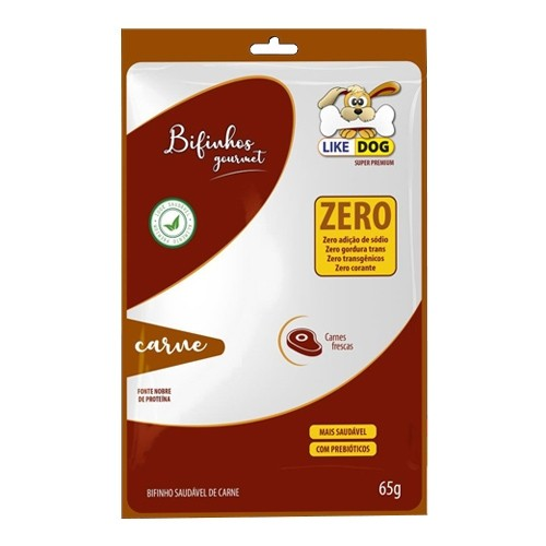 Bifinho Like Dog Carne 65g