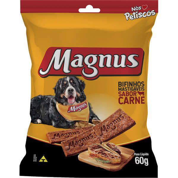 Bifinho Magnus para Cães Sabor Carne 60g