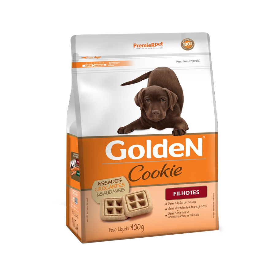 Cookie Golden para Cães Filhotes 400g