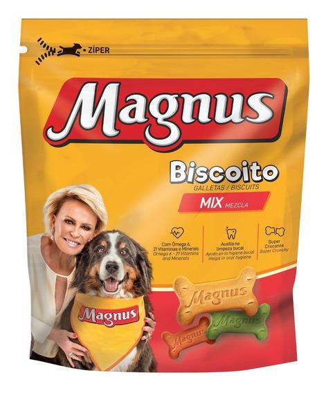 Biscoito Magnus Mix para Cães Adultos 500g