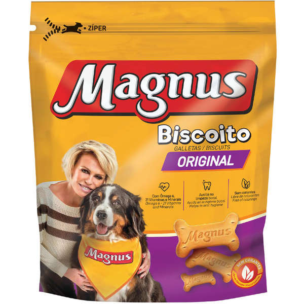 Biscoito Magnus Original para Cães Aadultos 400g