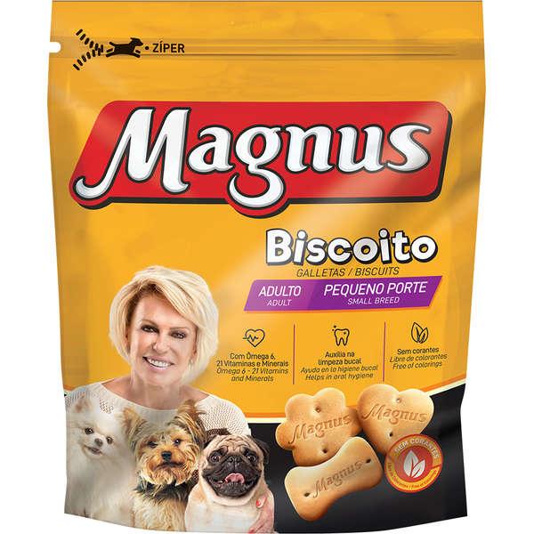 Biscoito Magnus Pequeno Porte para Cães Adultos 400g