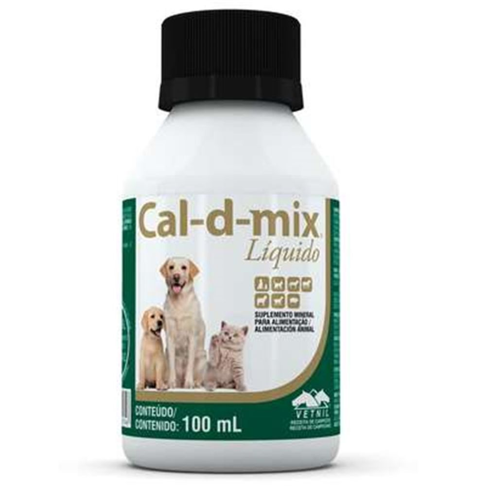 Suplemento Cal-d-mix Líquido 100ml