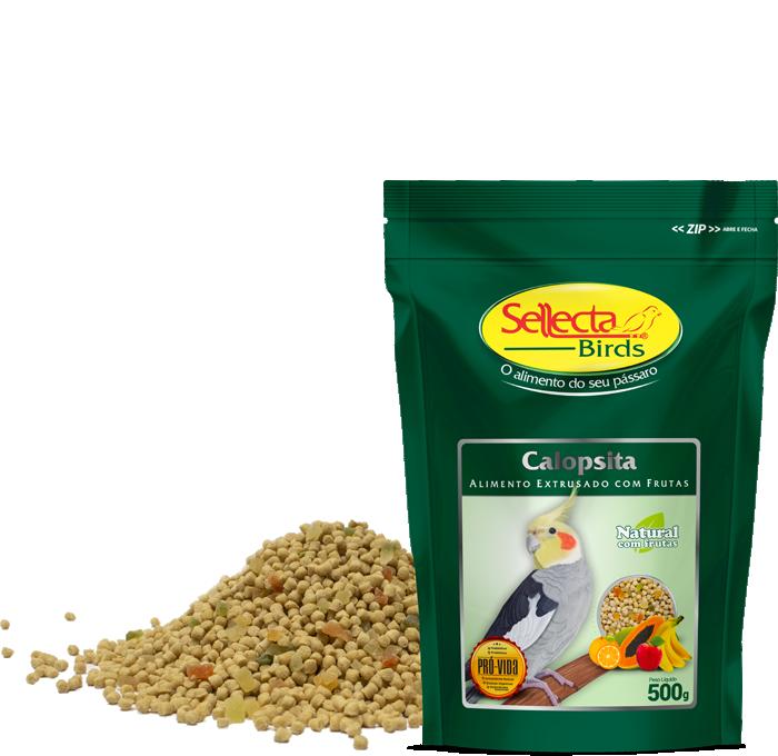 Calopsita Natural com Frutas 500g - Sellecta Birds