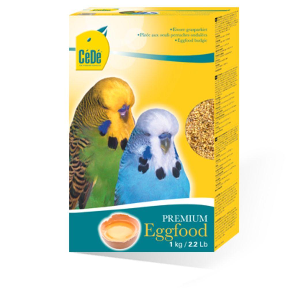 CeDe Calopsitas, Periquitos e outros (Eggfood Budgies) TODOS os Psitacideos 1kg (validade 04/06/20)