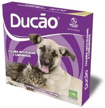 Coleira Ducão Anti-pulgas e Carrapatos para Cães e Gatos
